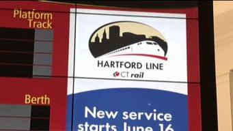 Abren nueva línea de trenes de Springfield a Connecticut