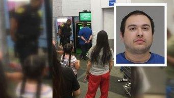 Policía: detenido por mostrarle genitales a niña en Walmart