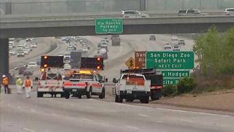 Investigan muerte de atropellado sobre I-15