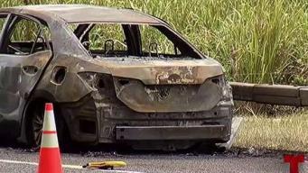 Persona queda atrapada entre llamas y muere en la PR-52