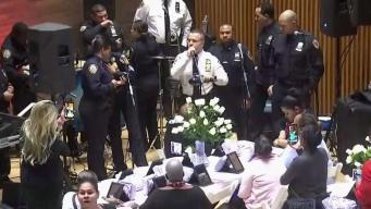 Policías de NY se unen para combatir el cáncer