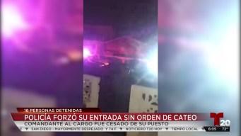 Cesan a policías tras polémico arresto en Rosarito