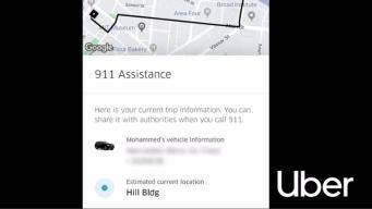 App de Uber te deja llamar al 911 en Cambridge