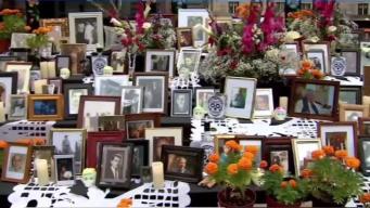 Preparan altar comunitario de Día de Muertos en Boston