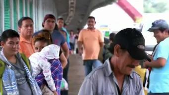"""Trump reitera """"captura y detención"""" para inmigrantes"""