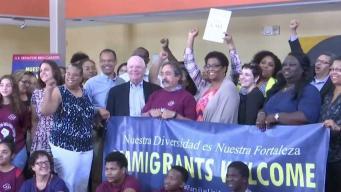 Prince George: residentes conversan con senador sobre políticas de inmigración
