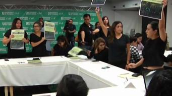 Protestas en Tijuana por políticas para migrantes