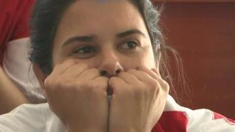 Reaccionan fanáticos peruanos a partido contra Francia