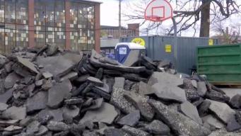Repararán parques que albergaron damnificados de explosiones
