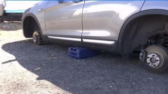 Reportan incremento de robo de llantas en Providence