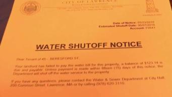 Residentes de quejan por amenaza de cese de agua en Lawrence