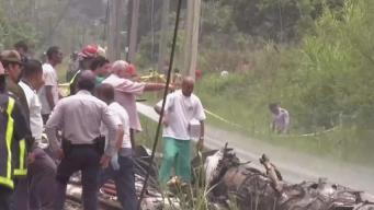 Revelan causa del accidente aéreo en Cuba
