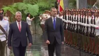 Rey de España habla de los cambios y el futuro de Cuba
