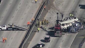 Aparatoso accidente en contravía: al menos 5 muertos