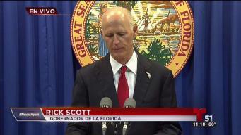 Rick Scott presenta plan de accion para seguridad escolar