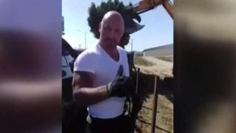 Captado en cámara: robo y vandalismo en la frontera