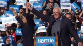 Bernie Sanders retoma campaña presidencial tras problemas de salud