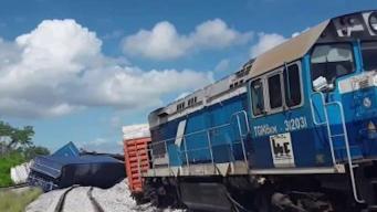 Se descarrila un tren en Cuba