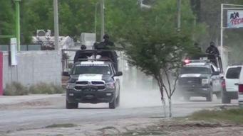 Se paralizan sectores en Reynosa por bloqueos y balaceras