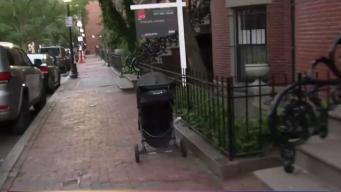 Quejas por coches de bebés en aceras de Boston