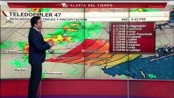Sistema de tormentas severas castiga nuestra área