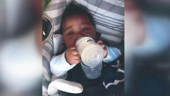 Macabro: meten a bebé en una maleta y la tiran a la basura