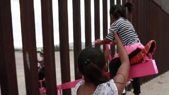 Sorprende instalación de sube y baja en la frontera