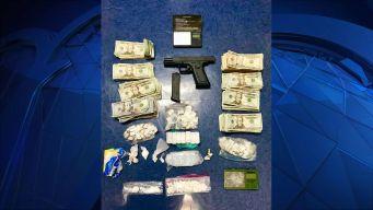Arrestan hombre por drogas y armas en Springfield