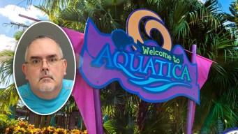 Arrestan a ofensor sexual tras exponerse en Aquatica