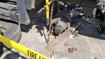 Identifican hombre que murió aplastado por rampa de camión