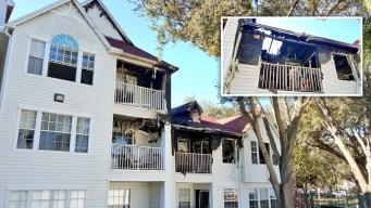 Incendio en apartamentos deja a 14 desplazados