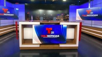 Telemundo 31 presenta nuevo estudio de noticias