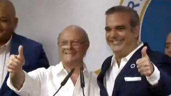 Hipólito Mejía concede victoria a Luis Abinader