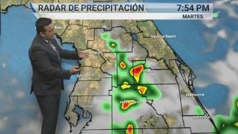 Continúan las lluvias para la Florida Central