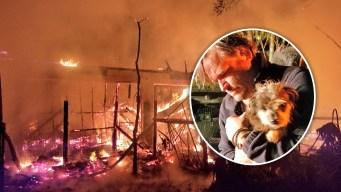 Voraz incendio deja sobre 30 animales muertos en Bithlo