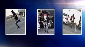 Buscan a sospechosos de un tiroteo que dejó dos heridos