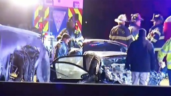 Violento accidente deja 3 muertos y paraliza la Ruta 80
