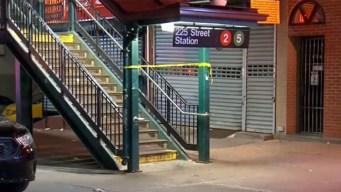 Tiroteo policial deja un herido en estación de tren