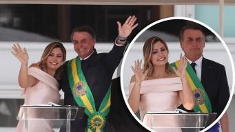 La nueva primera dama que rompió el protocolo con sus señas