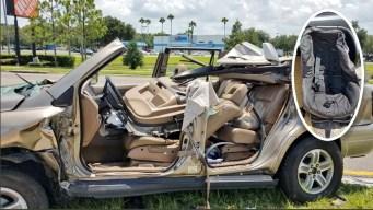 Aparatoso accidente deja 5 heridos, incluida una niña