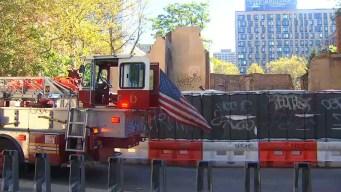Trabajadores heridos tras derrumbe en construcción