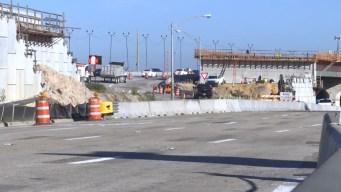 Reanudan construcción en I-4 luego de una semana
