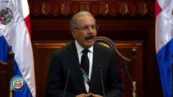 """""""Feminicidios disminuyeron"""": Danilo Medina en informe"""