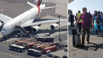 NY: Influenza causó malestares en vuelo de Dubái