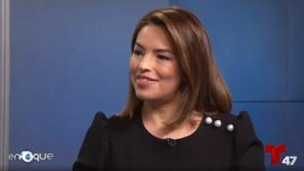 Entrevista con Gilma Ávalos, presentadora de NBC 4 NY