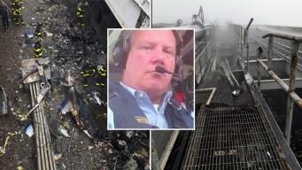 Piloto de helicóptero estrellado reportó estar perdido