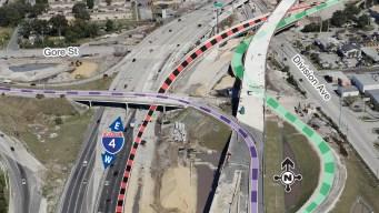 Nuevo cambio en I-4: unirán salidas en centro de Orlando