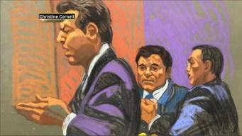 """Excusan a jurado en juicio contra El Chapo por """"ansiedad"""""""