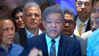 Ruge el león: Leonel denuncia posible fraude electoral
