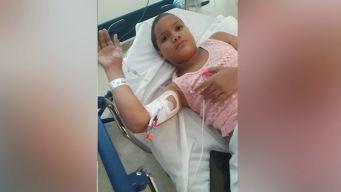 Niña hispana ruega por visa para seguir batalla contra el cáncer